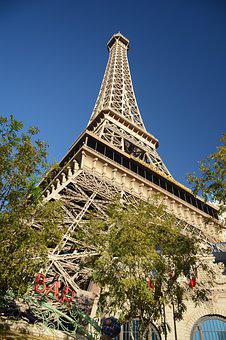 Las Vegas, Paris, Tower, Tourism, Vacation