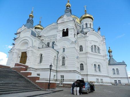 Perm Mount Athos, White Mountain, Temple, Monastery