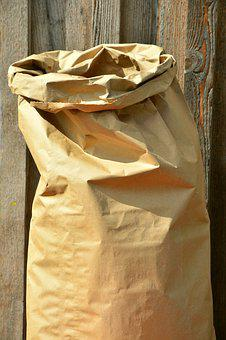 Bag, Paper Bag, Sack Of Grain, Pack, Copy Space
