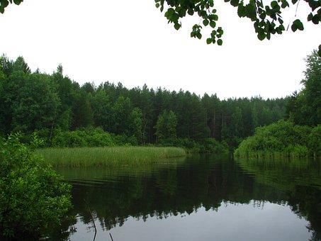 Perm Krai, Sky, Russia, Silence, Smooth Surface, Calm