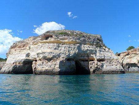 Portugal, Algarve, Cliffs, Cave