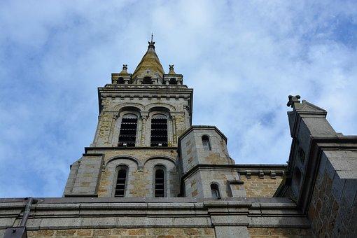 Church Rochebonne, Bell Tower, Brittany France