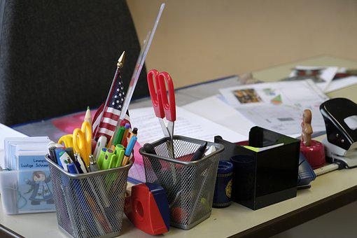 Table, Desk, Office, Workplace, Teacher's Table, Work