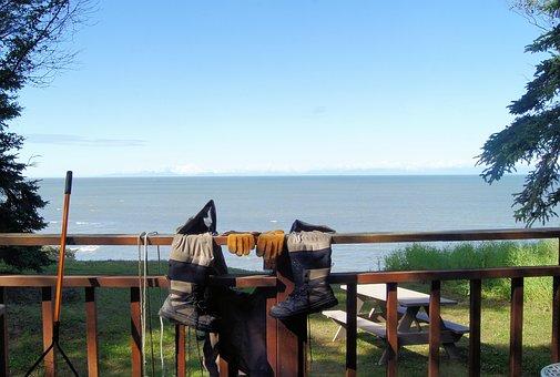 Fishing, Cook's Inlet, View Alaska