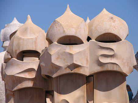 Barcelona, Gaudi, Spain, Guell, Architecture, Park
