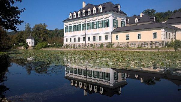 Castle, Laudon, Moated Castle, Hadersdorf, Wienerwald