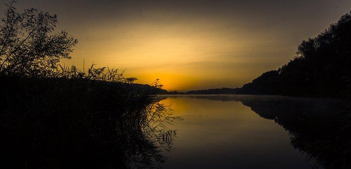 Sunrise, Destination Finger Lake, Morgenstimmung