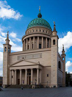 Potsdam, Church, Nikolai Church, Tourist Attraction