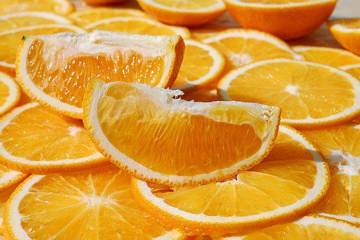 Orange, Citrus Fruit, Tropical, Fruit, Orange Slices