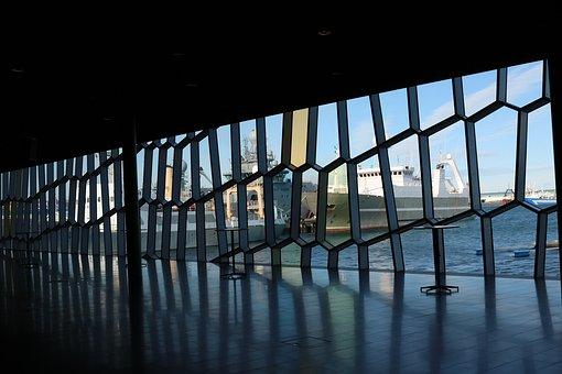 Iceland, Architecture, Ships, Icelandic, Building