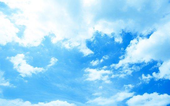 Sky, Blue, Baiyun