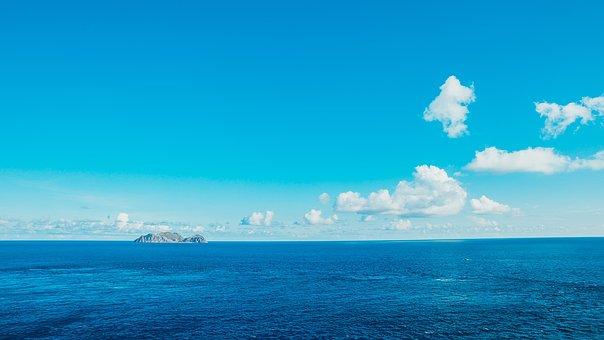 Sea, Sky, Blue