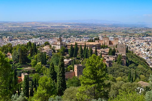 Alhambra, Granada, Spain, Palace, Fortress, Unesco