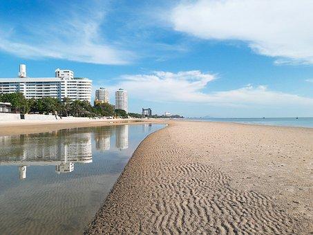 Hua Hin, Sea, Beach, Summer, Tour, Life, The Sun