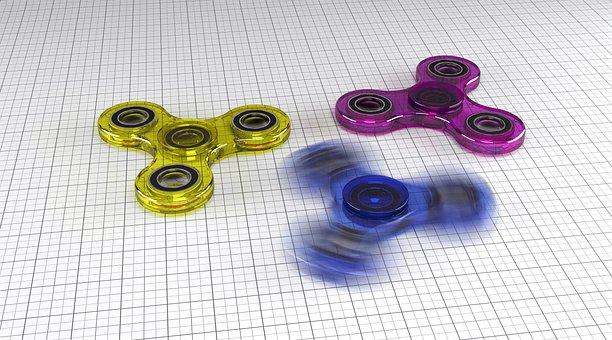 Fidget Spinner, Spinner, Zachary Dreher, Toys