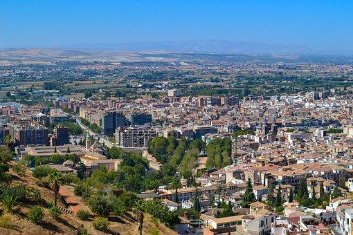 Granada, Spain, Cityscape, City, Traveling, Travel