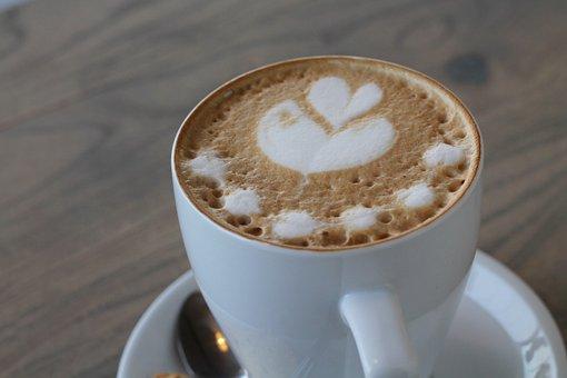 Food, Coffee, White, Cup, Drink, Beverage, Latte