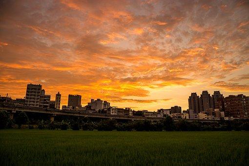 Sky, The Evening Sun, Yellow