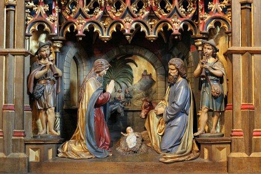 Mary And Joseph, Jesus Christ, Art, Christianity, Child