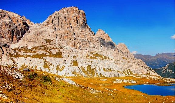 Bödensee, Sesto, Dolomites, Sexten Dolomites, Italy