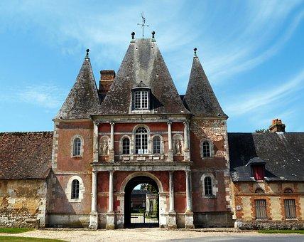 Castle, Bonnemare, Normandy