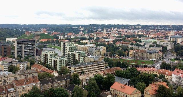 City, Vilnius, Capital, Europe, Lithuania, Architecture