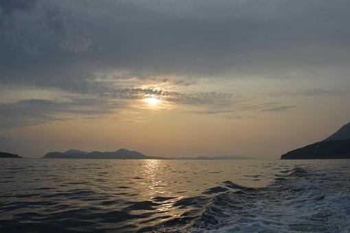 Sea, Adriatic Sea, Croatia, Blue, Water, Nature, Port