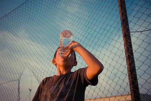 Desire, Boy, Water, Drink, Child