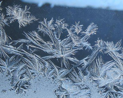 Frost, Window, Winter, Crystal, Ice, Icy, Holiday