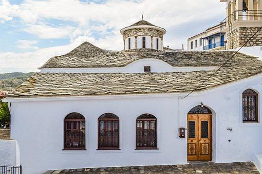 Church, Orthodox, Religion, Christianity, Island, Greek