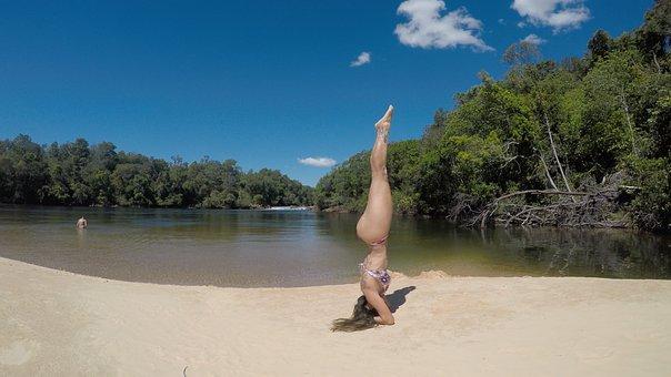 Yoga, Jalapon, Rio, Nature, Landscape, Waterfall, Water