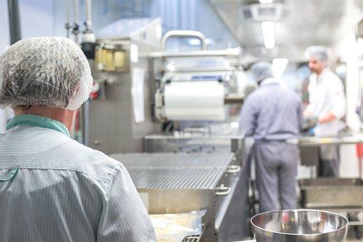 Large Kitchen, Kitchen Work, Kitchen, Production