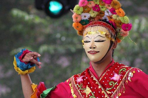 Folklore, Mask, Dancer