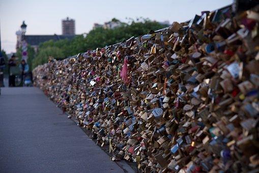 Bridge, Paris, Landmark, Tourist, River, Water, Famous
