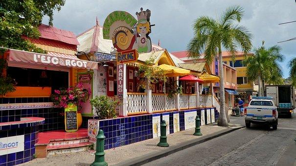St Maarten, Philipsburg, Caribbean, Road, Home