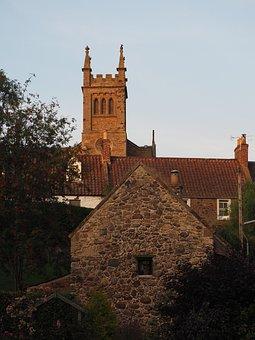 Church, Scotland, Village, Hamlet, Scottish, Old, Town