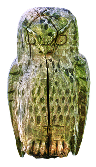 Sculpture, Holzfigur, Owl, Wood Carving, Carving