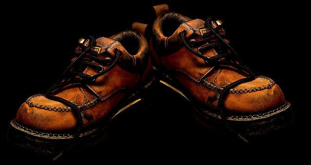 Shoes, Men Shoes, Leather, Brown, Sole