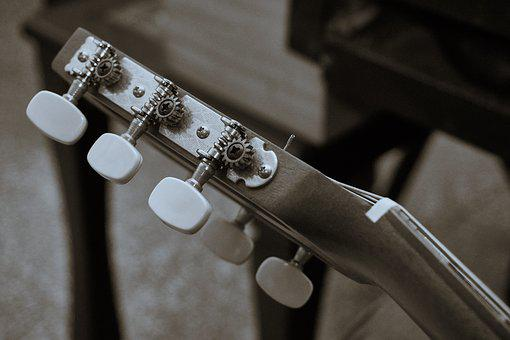 Guitar, Nylon Strings, Nylon, Music, Sound, Classical