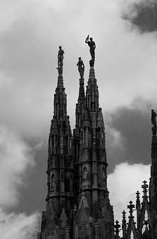 Italy, Church, Statue, Places Of Interest, Renaissance