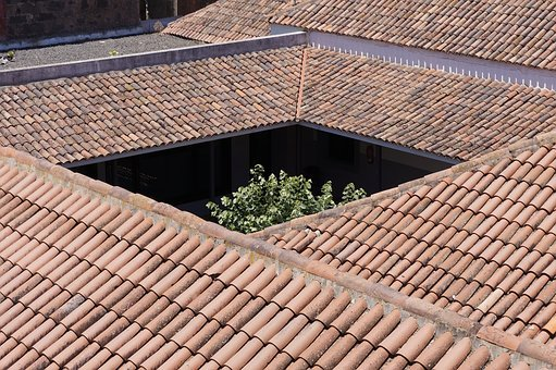 Roof, Texas, Old Building