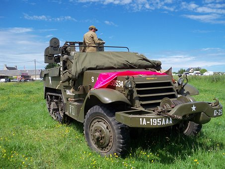 Field The American Military, The Landing In Normandy