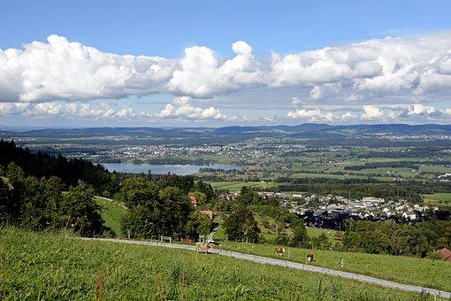 Pfannenstiel, Landscape, Nature, Greifensee, View