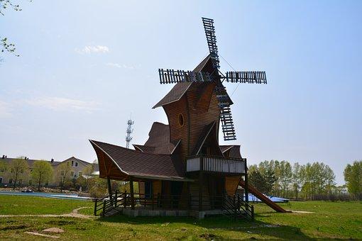 Harbin, Volga Manor, Windmill