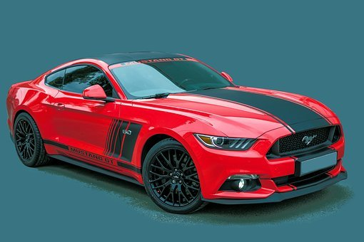 Ford, Mustang Gt, Sports Car, Supercar, Automotive
