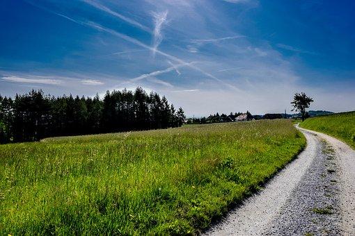 Away, Sky, Landscape, Nature, Clouds, Blue, Summer