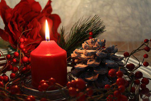 Candle, Burning Candle, Decoration, Candlelight, Advent