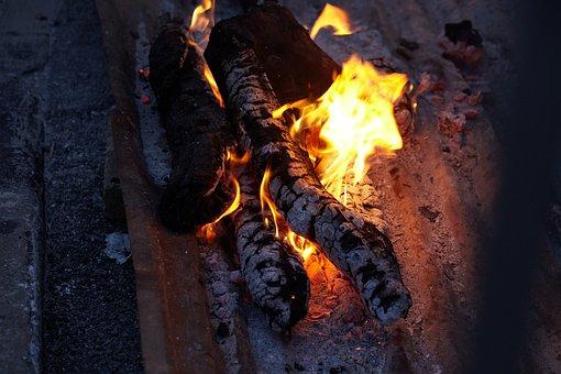 Carbon, Charcoal, Fire, Black, Wood, Coal, Flame, Ash
