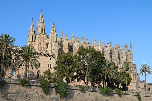 Mallorca, Palma, Cathedral, Palma De Mallorca