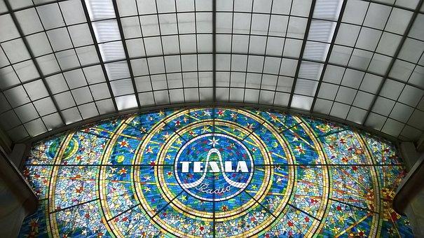 Electronics, Mosaic, Colors, Finery, Glass, Prague